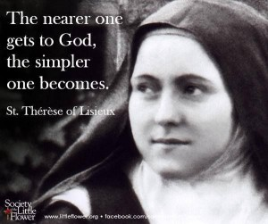 St Therese REAL PIC w verse GOOD  2