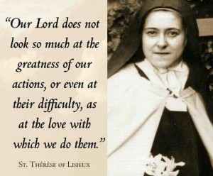 St Therese real pic with nice verse  3